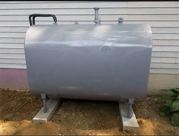 aboveground oil tank