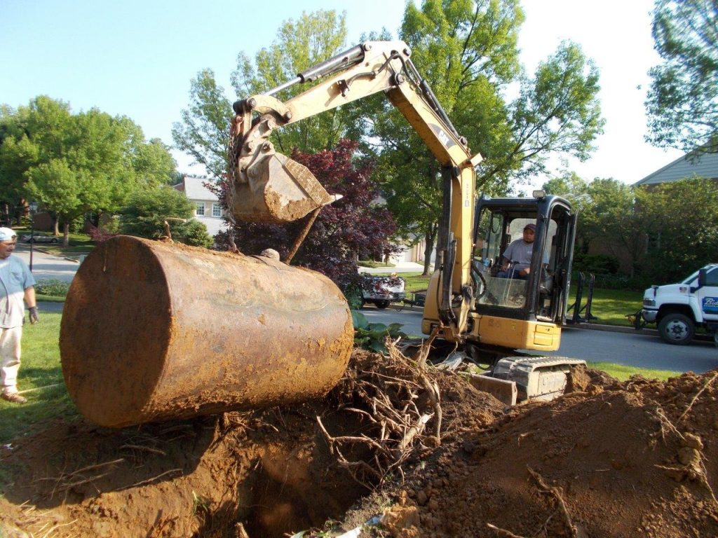 Maryland Underground Oil Tank removal company
